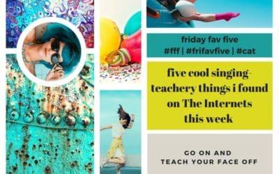 friday fav five – 18|09|16