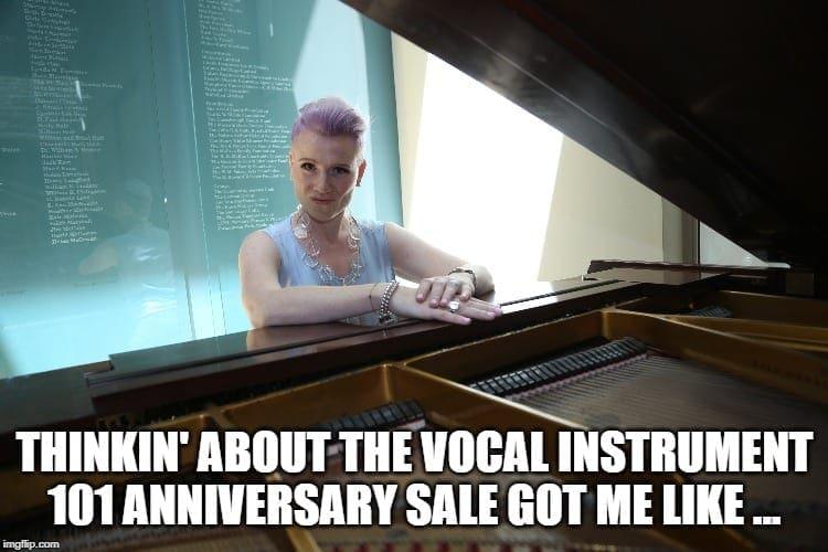 Shannon Coates The Vocal Instrument 101 signature